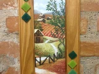 Cuadros decorados con venecitas:  de estilo  por ArteSana,Moderno