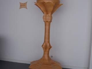 Lampe chardon:  de style  par Bois des corbeaux.