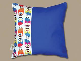 """Kissen """"Colorful Owls"""" + Inlett:   von pillow beag"""
