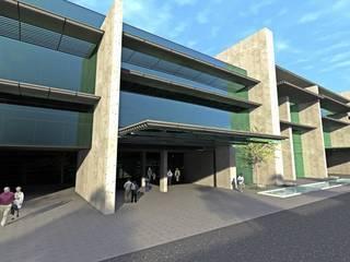 Muğla Üniversitesi Araştırma ve Uygulama Hastanesi ve Morfoloji Binası Modern Hastaneler ERBUĞ MİMARLIK Modern