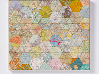 Patchwork world one:   by Bombus