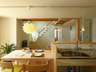 下岩成の家 北欧デザインの キッチン の 有限会社 コアハウス 北欧