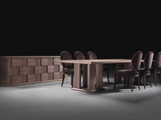 Tables: Soggiorno in stile  di Klabdesign