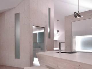 Modern Kitchen by BUCHER | HÜTTINGER - ARCHITEKTUR INNEN ARCHITEKTUR Modern