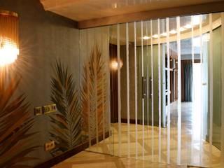 VILLA - MOSCOW Finestre & Porte in stile moderno di RobertoStracciaStudio Moderno