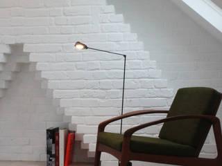 BR Residence 北欧デザインの 書斎 の deDraft Ltd 北欧