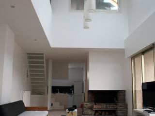 REHABILITATION: Maisons de style  par FIGURE LIBRE ARCHITECTURE
