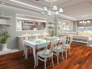 İdea Mimarlık Mediterranean style dining room