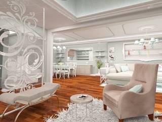 İdea Mimarlık Mediterranean style living room