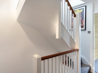 Blackheath House Modern corridor, hallway & stairs by APE Architecture & Design Ltd. Modern