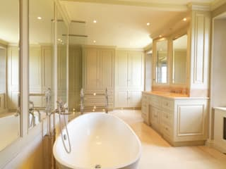 Bath Bathroom designed and made by Tim Wood Classic style bathroom by Tim Wood Limited Classic