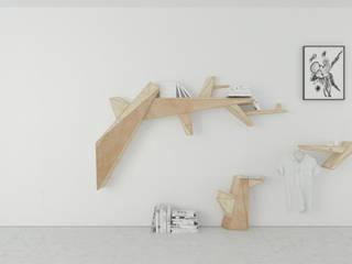 t design Living roomShelves