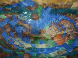 Tuinfonteinen: mediterrane Tuin door Pottenbakkerij Heksenvuur