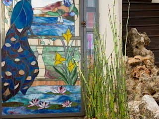 corniche Jardin original par JUNGLE ART Éclectique