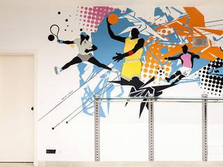 DISCOHI - Wall design - decorazione d' interni:  in stile  di Todesign