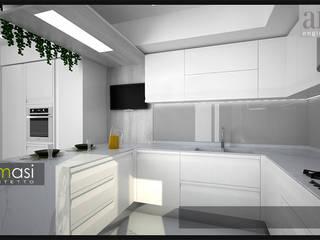 Cocinas de estilo  de melania de masi architetto, Moderno