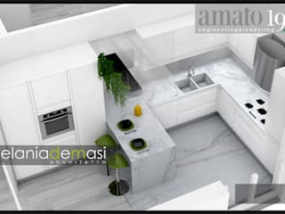 Modern Kitchen by melania de masi architetto Modern