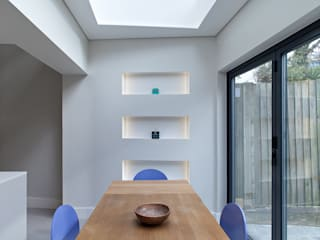 Highbury Town House:  Dining room by APE Architecture & Design Ltd.