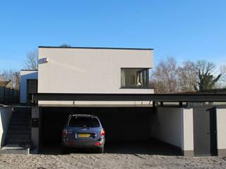 Maison passive en Brabant Wallon Maisons minimalistes par dune Architecture sprl Minimaliste