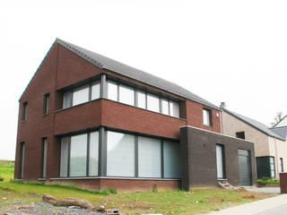 Maison passive à Nivelles Maisons modernes par dune Architecture sprl Moderne