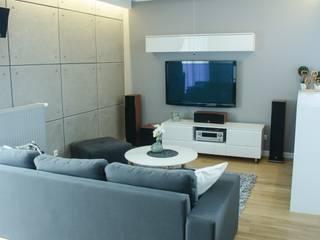 Moderne Wohnzimmer von I Home Studio Barbara Godawska Modern