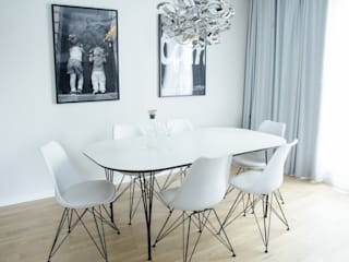 Modern Dining Room by I Home Studio Barbara Godawska Modern