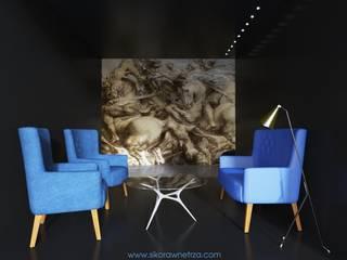 47 AVENUE BUTIK Sikora Wnetrza Espacios comerciales de estilo minimalista