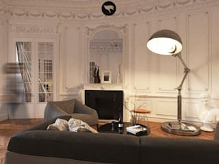 Sikora Wnetrza Classic style living room