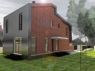 Casas minimalistas de Francesca Pierucci Architetto Minimalista