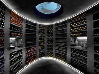 JMF Ruang Penyimpanan Wine/Anggur Klasik