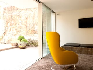 appartements DKJ Jardin d'hiver moderne par P8 architecten Moderne
