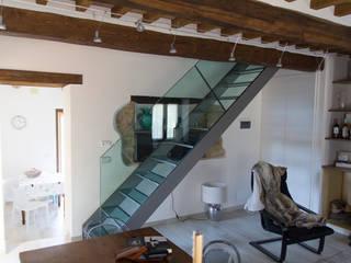 Casa Mian - Toscana Ingresso, Corridoio & Scale in stile moderno di Massimo Neri architetto Moderno