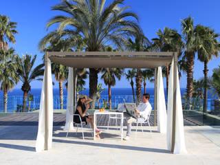 Mood Pavillon 300x300 cm: moderner Garten von Oltre-Garden