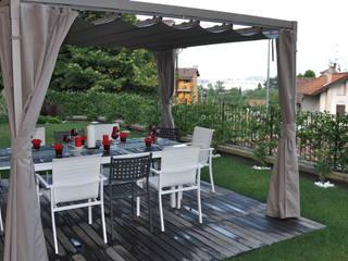 Mood Pavillon 400x500 cm: modern  von Oltre-Garden,Modern