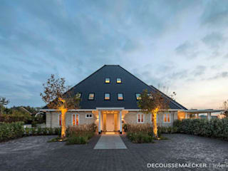 Country style house by Decoussemaecker Interieurs Country
