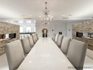 Salle à manger minimaliste par Decoussemaecker Interieurs Minimaliste