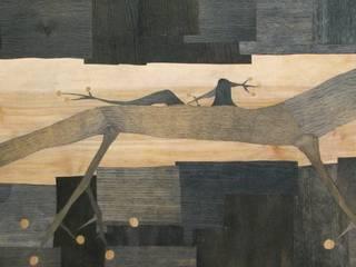 """Współczesna intarsja """"Geko"""" od Galeria AtmoSfera Nowoczesny"""