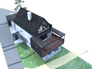 perspective Nord 0uest 1: Maisons de style de style eclectique par Atelier S