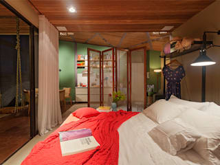 Isabela Bethônico Arquitetura 臥室