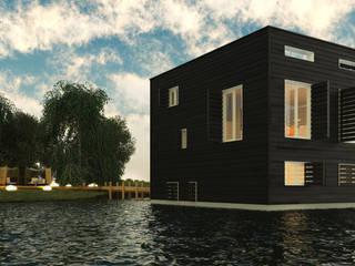 Loods Moderne huizen van M&M Watervilla Modern