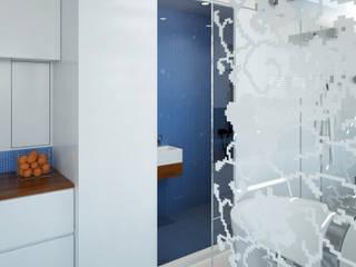 Pied a L' eau Moderne badkamers van M&M Watervilla Modern