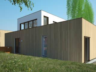 Orangerie Moderne huizen van M&M Watervilla Modern