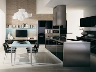 Cocinas modernas de erenyan mimarlık proje&tasarım Moderno