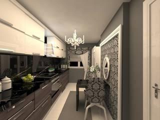 Cocinas de estilo  por erenyan mimarlık proje&tasarım , Minimalista