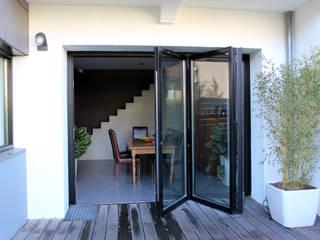 Projekty,  Okna zaprojektowane przez Atelier d'architecture Pilon & Georges
