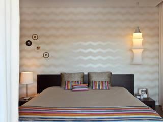 Apartamento Expo_Design Interiores: Quartos  por Tiago Patricio Rodrigues, Arquitectura e Interiores