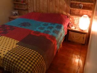 Atölye Butka – Palet Yatak Odası:  tarz