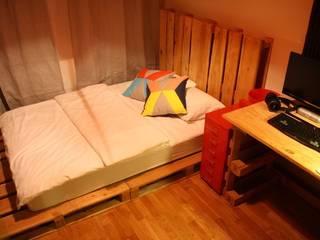 Atölye Butka – Palet Yatak Odası Grubu:  tarz