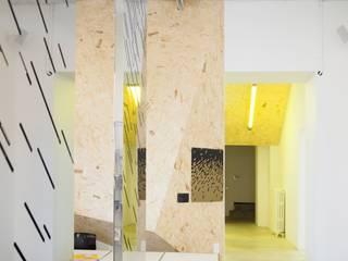 2nd Face Locaux commerciaux & Magasin minimalistes par archizip Minimaliste