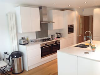 Barnet House Extension Modern Kitchen by Refurb It All Modern